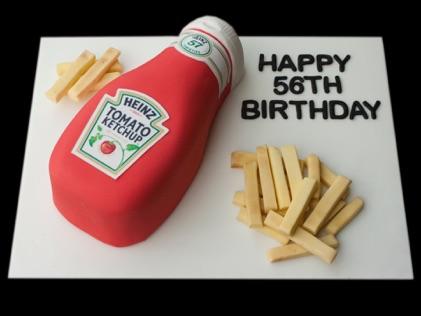 Tomato Sauce Cake Tomato Sauce Bottle Birthday